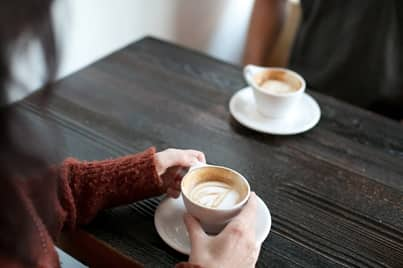 ask a guy out for coffee